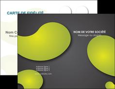 personnaliser modele de carte de visite texture contexture structure MLIG55604