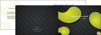 modele depliant 2 volets  4 pages  texture contexture structure MLIG55612