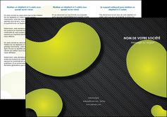 personnaliser modele de depliant 3 volets  6 pages  texture contexture structure MLIG55620