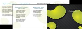 impression depliant 4 volets  8 pages  texture contexture structure MIF55638