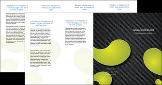 maquette en ligne a personnaliser depliant 4 volets  8 pages  texture contexture structure MLIG55642