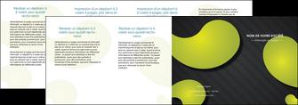 modele en ligne depliant 4 volets  8 pages  texture contexture structure MLIG55644