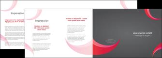 modele en ligne depliant 4 volets  8 pages  texture contexture structure MLGI55702