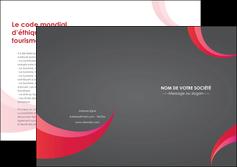 impression depliant 2 volets  4 pages  texture contexture structure MLIG55706