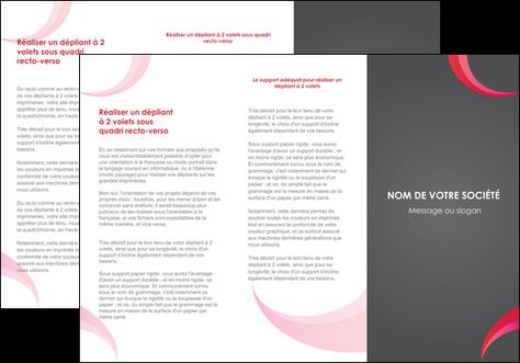 faire depliant 3 volets  6 pages  texture contexture structure MLGI55718