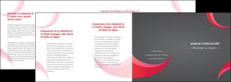 modele en ligne depliant 4 volets  8 pages  texture contexture structure MLGI55748