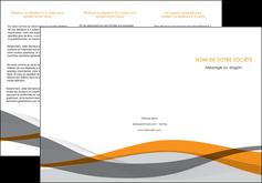modele depliant 3 volets  6 pages  texture contexture structure MLGI55786