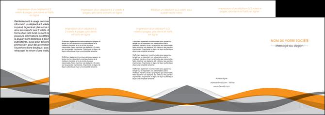 realiser depliant 4 volets  8 pages  texture contexture structure MLGI55802