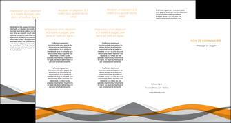 imprimer depliant 4 volets  8 pages  texture contexture structure MLGI55806