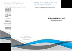 faire modele a imprimer depliant 2 volets  4 pages  texture contexture structure MLIG55820