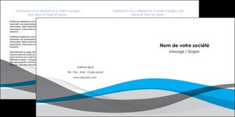 imprimerie depliant 2 volets  4 pages  texture contexture structure MIF55844