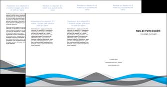 creer modele en ligne depliant 4 volets  8 pages  texture contexture structure MIF55862