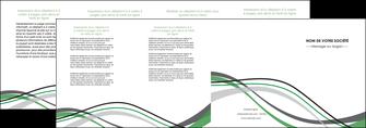 creation graphique en ligne depliant 4 volets  8 pages  texture contexture structure MLIG55868
