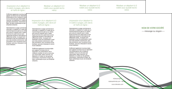 imprimer depliant 4 volets  8 pages  texture contexture structure MIF55914