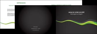personnaliser maquette depliant 2 volets  4 pages  texture contexture structure MIF56110