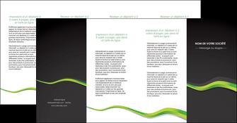 modele en ligne depliant 4 volets  8 pages  texture contexture structure MIF56140
