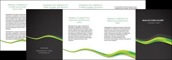 personnaliser maquette depliant 4 volets  8 pages  texture contexture structure MIF56142