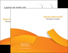 Commander carte de visite la grande imprimerie  Carte commerciale de fidélité carte-de-visite-la-grande-imprimerie Carte de visite Double - Portrait