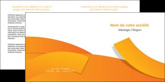 modele depliant 2 volets  4 pages  texture contexture structure MLGI56184