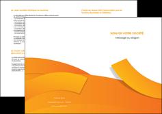 exemple depliant 2 volets  4 pages  texture contexture structure MLGI56194