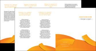impression depliant 4 volets  8 pages  texture contexture structure MLGI56200