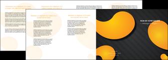 realiser depliant 4 volets  8 pages  texture contexture structure MIF56466