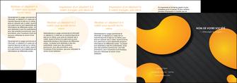 exemple depliant 4 volets  8 pages  texture contexture structure MIF56472