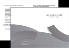 personnaliser modele de depliant 2 volets  4 pages  texture contexture structure MLGI56646