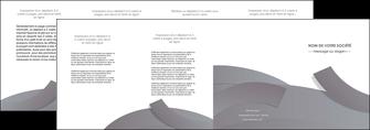 personnaliser maquette depliant 4 volets  8 pages  texture contexture structure MIF56682