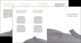 creation graphique en ligne depliant 4 volets  8 pages  texture contexture structure MIF56686