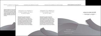 personnaliser maquette depliant 4 volets  8 pages  texture contexture structure MIF56688