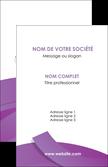 exemple carte de visite violet fond violet violet pastel MLGI56918