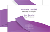 exemple carte de visite violet fond violet violet pastel MLGI56919