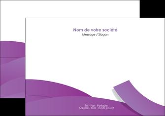 modele flyers violet fond violet violet pastel MIF56932
