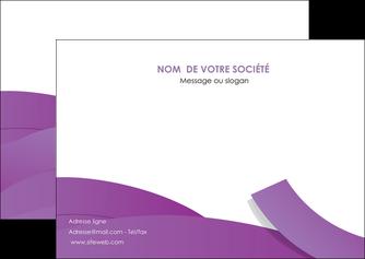 exemple flyers violet fond violet violet pastel MIF56936