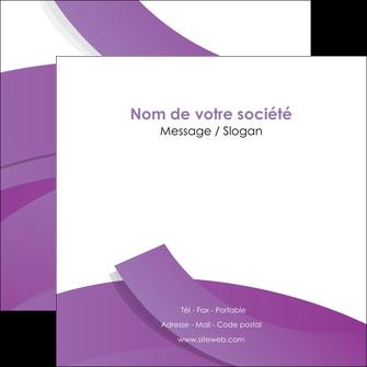 imprimerie flyers violet fond violet violet pastel MLGI56940