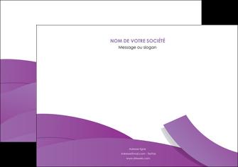 personnaliser modele de flyers violet fond violet violet pastel MIF56942