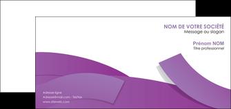 creer modele en ligne carte de correspondance violet fond violet violet pastel MIF56946