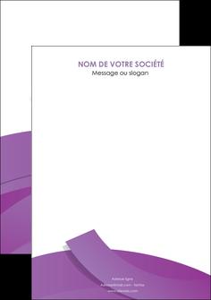 exemple flyers violet fond violet violet pastel MIF56954