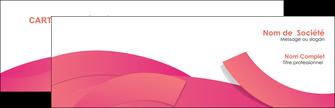 imprimer carte de visite orange rose couleur MLGI57124