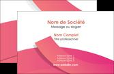 exemple carte de visite orange rose couleur MLGI57127