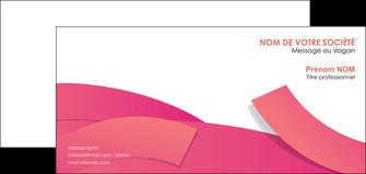 maquette en ligne a personnaliser carte de correspondance orange rose couleur MLGI57154