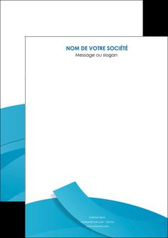 maquette en ligne a personnaliser affiche bleu bleu pastel fond bleu pastel MIF57180