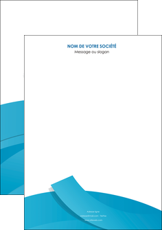 imprimer affiche bleu bleu pastel fond bleu pastel MIF57182