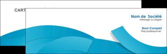 modele en ligne carte de visite bleu bleu pastel fond bleu pastel MIF57186