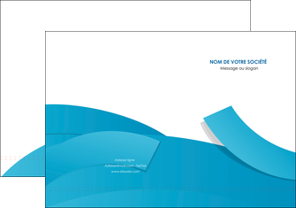 creation graphique en ligne pochette a rabat bleu bleu pastel fond bleu pastel MIF57190