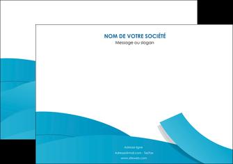 maquette en ligne a personnaliser affiche bleu bleu pastel fond bleu pastel MIF57196