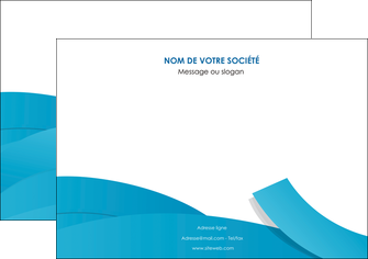maquette en ligne a personnaliser affiche bleu bleu pastel fond bleu pastel MIF57198