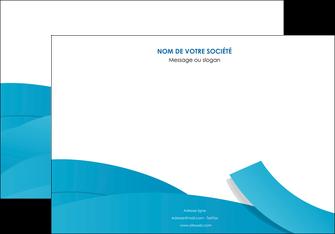 personnaliser modele de affiche bleu bleu pastel fond bleu pastel MIF57200