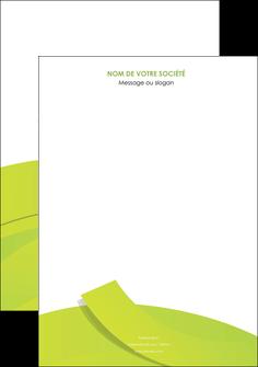 exemple affiche espaces verts vert vert pastel colore MLIG57234